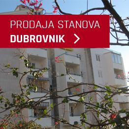 Prodaja stanova u Dubrovniku