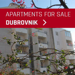 Apartments for sale in Dubrovnik